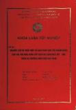 Khóa luận tốt nghiệp: Nghiên cứu đề xuất một số giải pháp chủ yếu nhằm nâng cao vai trò nhà cung cấp dịch vụ Logistics 3PL - DHL trên thị trường Miền Bắc Việt Nam