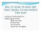 Thuyết trình: Đầu tư quốc tế gián tiếp, thực trạng và giải pháp ở Việt Nam