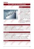 Bài giảng Quản trị chiến lược: Bài 5 - Tổ hợp GD TOPICA