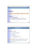 Bài giảng Mạng và các công nghệ truy cập: Chương 1 - GV. Dương Thị Thanh Tú