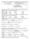 4 Đề kiểm tra HK 1 Tiếng Anh 12 - Sở GD&ĐT Bình Phước (2013-2014)