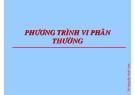 Bài giảng Matlab ứng dụng: Phần II - TS. Nguyễn Hoài Sơn