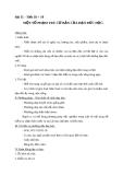 Giáo án GDCD 10 bài 11: Một số phạm trù cơ bản của đạo đức học