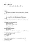 Giáo án GDCD 10 bài 13: Công dân với cộng đồng