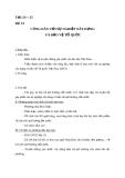 Giáo án GDCD 10 bài 14: Công dân với sự nghiệp xây dựng và bảo vệ tổ quốc
