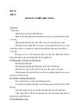 Giáo án GDCD 10 bài 16: Tự hoàn thiện bản thân