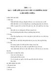 Giáo án GDCD 10 bài 1: Thế giới quan duy vật và phương pháp luận biện chứng