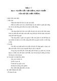 Giáo án GDCD 10 bài 4: Nguồn gốc vận động phát triển của sự vật và hiện tượng