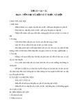 Giáo án GDCD 10 bài 8: Tồn tại xã hội và ý thức xã hội