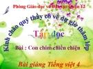 Bài giảng Tập đọc: Con chim chiền chiện - Tiếng việt 4 - GV.N.Hoài Thanh