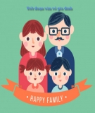 15 bài văn mẫu lớp 2 kể về gia đình, ông bà, anh chị em và người thân trong gia đình