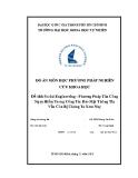 Tiểu luận: Social Engineering - Phương Pháp Tấn Công Nguy Hiểm Trong Công Tác Bảo Mật Thông Tin Vẫn Còn Bị Chúng Ta Xem Nhẹ