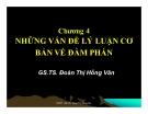 Bài giảng Quản trị xuất nhập khẩu: Chương 4 - GS.TS. Đoàn Thị Hồng Vân