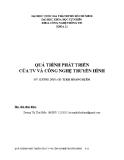 Tiểu luận: Quá trình phát triển của tivi và công nghệ truyền hình