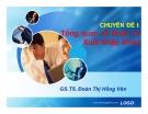 Bài giảngTổng quan về Quản trị xuất nhập khẩu - GS.TS. Đoàn Thị Hồng Vân