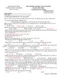Đề thi thử ĐH môn Hóa - THPT Cẩm Bình năm 2014 đề 268