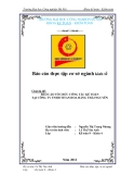 Báo cáo: Tổ chức công tác kế toán tại công ty THHH Titan Hoa Hằng Thái Nguyên