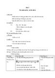 Giáo án Âm nhạc 2 bài 5: Ôn tập hát Xòe hoa
