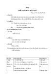 Giáo án Âm nhạc 2 bài 6: Học hát Múa vui
