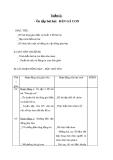 Giáo án Âm nhạc 1 bài 12: Ôn tập hát Đàn gà con