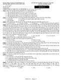 Đề thi thử ĐH môn Sinh - THPT chuyên Lương Thế Vinh năm 2014 đề 141