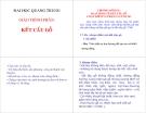 Giáo trình phần Kết cấu gỗ - ĐH Quang Trung