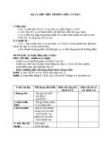 Giáo án Công nghệ 8 bài 12: Bài thực hành - Đọc bản vẻ chi tiết đơn giản có  ren