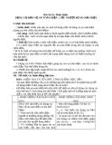 Giáo án Công nghệ 8 bài 35: Thực hành - Cứu người bị tai nạn điện