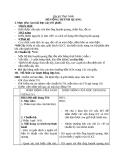 Giáo án Công nghệ 8 bài 40: Thực hành - Đèn ống huỳnh quang