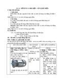 Giáo án Công nghệ 8 bài 44: Đồ dùng loại điện cơ quạt điện, máy bơm nước