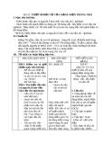 Giáo án Công nghệ 8 bài 53: Thiết bị bảo vệ mạng điện trong nhà