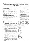 Bài 56: Thực hành Vẽ sơ đồ nguyên lí mạch điện - Giáo án Công nghệ 8 - GV:L.M.Trang