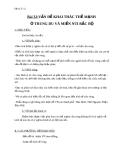 Giáo án Địa lý 12 bài 32: Vấn đề khai thác thế mạnh vùng Trung du và miền núi Bắc Bộ
