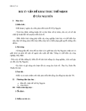 Giáo án Địa lý 12 bài 37: Vấn đề khai thác thế mạnh ở Tây Nguyên