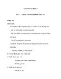 Giáo án Tin học 9 bài 13: Thông tin đa phương tiện