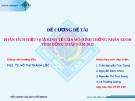 Đề tài: Phân tích hiệu quả kinh tế của mô hình trồng nhãn Edor tỉnh Đồng Tháp năm 2012