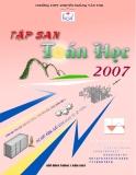 Tập san Toán học 2007 - THPT Chuyên Hoàng Văn Thụ