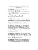 54 bài tập về hình tọa độ Oxy trong các đề thi Đại học (2002 - 2013)