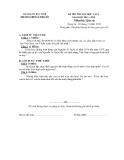 Đề thi thử ĐH môn Lịch Sử - THPT Lý Thái Tổ lần 1 năm 2014