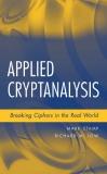 Ebook Applied cryptanalysis