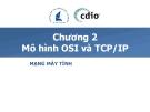 Bài giảng Mạng máy tính - Chương 2: Mô hình OSI và TCP/IP - ĐH KHTN TP.HCM