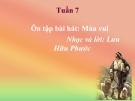 Bài giảng Âm nhạc 2 bài 7: Ôn tập hát Múa vui