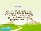 Bài giảng Âm nhạc 2 bài 32: Ôn tập hát Chim chích bông. Chú ếch con. Bắc kim thang