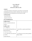 Giáo án bài Tập làm văn: Kể chuyện (Kiểm tra viết) - Tiếng việt 4 - GV.Lâm Ngọc Hoa