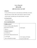 Giáo án bài Kể chuyện: Một phát minh nho nhỏ - Tiếng việt 4 - GV.Lâm Ngọc Hoa