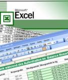 Giáo trình Excel Kế toán