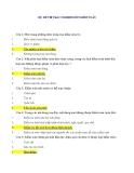 Bộ đề thi trắc nghiệm môn Kiểm toán - có đáp án
