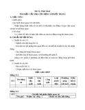 Bài 31: Thực hành - Tìm hiểu cấu tạo của động cơ đốt trong - Giáo án Công nghệ 11 - GV:N.N.Viên