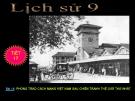 Bài giảng Lịch sử 9 bài 15: Phong trào cách mạng Việt Nam sau Chiến tranh thế giới thứ nhất (1919 - 1925)