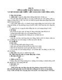 Giáo án Lịch sử 9 bài 23: Tổng khởi nghĩa tháng Tám năm 1945 và sự thành lập nước Việt Nam dân chủ cộng hòa